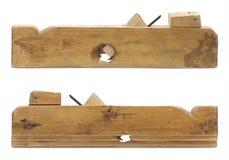 Oud houten vliegtuig. Stock Fotografie