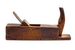 Oud houten vliegtuig Royalty-vrije Stock Foto