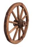 Oud houten wiel Stock Afbeelding