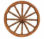 Oud houten wiel Stock Foto's