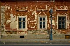 Oud huis. Stock Foto's
