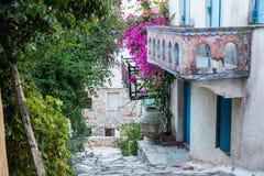 Oud Huis in Alonissos Royalty-vrije Stock Afbeeldingen