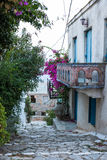 Oud Huis in Alonissos Stock Afbeelding