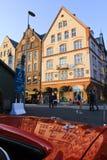 Oud huis in Bergen Stock Afbeelding
