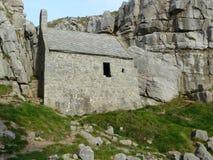 Oud huis in bergen Royalty-vrije Stock Afbeeldingen