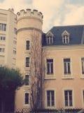 Oud Huis in Biarritz Frankrijk Stock Afbeeldingen