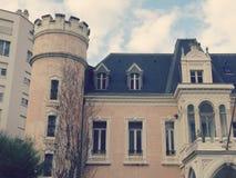 Oud Huis in Biarritz Frankrijk Royalty-vrije Stock Foto