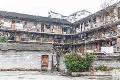 Oud huis bij fenghuang royalty-vrije stock afbeelding