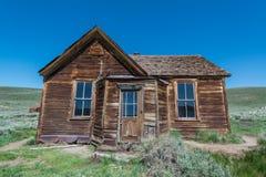 Oud Huis in Bodie Ghost Town Stock Afbeelding