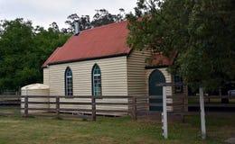 Oud huis in Dargo royalty-vrije stock foto's