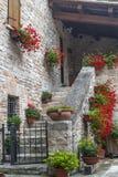 Oud huis in de Marsen Stock Afbeeldingen