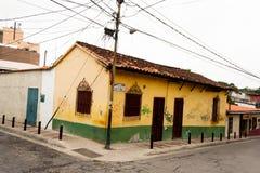Oud huis Gr Hatillo Miranda State Caracas Venezuela royalty-vrije stock afbeelding
