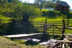 Oud huis in het platteland Royalty-vrije Stock Foto