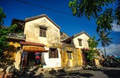 Oud huis - Hoi An-stad - Quang Nam-provincie Stock Foto
