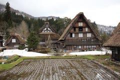 Oud huis in Japanse dorpsshirakawago Royalty-vrije Stock Afbeeldingen