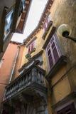 Oud Huis in Labin in Kroatië Royalty-vrije Stock Afbeelding