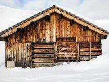 Oud huis Lech stock foto