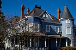 Oud huis, Main Street, Smithfield, VA Royalty-vrije Stock Fotografie