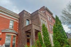 Oud Huis in Montreal Stock Foto's