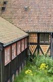 Oud Huis Noorwegen Royalty-vrije Stock Foto