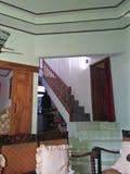 Oud huis om te leven royalty-vrije stock afbeelding