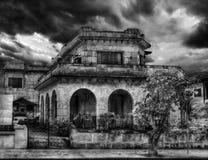 Oud huis in oude varadero-3 Stock Foto's