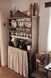 Oud huis - poetsmiddeldorp Royalty-vrije Stock Foto's