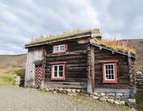 Oud huis in Røros/Roros Royalty-vrije Stock Afbeeldingen