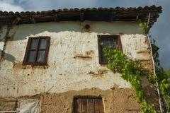 Oud huis in Recani Royalty-vrije Stock Foto's
