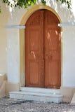 Oud huis in Rhodos Royalty-vrije Stock Afbeeldingen