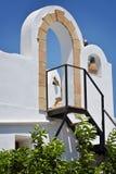 Oud huis in Rhodos Royalty-vrije Stock Fotografie