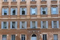 Oud huis in Rome Royalty-vrije Stock Foto