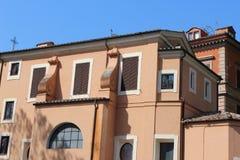 Oud huis in Rome Royalty-vrije Stock Foto's