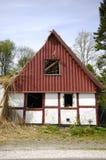 Oud huis in ruïne Royalty-vrije Stock Afbeelding