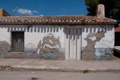 Oud huis in Spanje royalty-vrije stock afbeeldingen