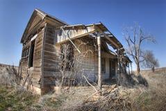 Oud huis in Texas stock foto