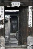 Oud huis van de oude stad. Royalty-vrije Stock Afbeeldingen