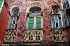 Oud huis van Kolkata Stock Afbeeldingen