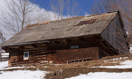 Oud huis van Roemenië Royalty-vrije Stock Fotografie