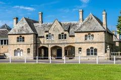 Oud huis in Witney, Engeland Stock Afbeelding
