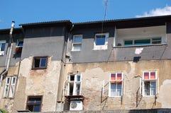 Oud huis in Zagreb   Stock Afbeelding