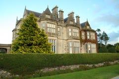 Oud Iers landgoedhuis Royalty-vrije Stock Afbeeldingen