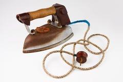 Oud ijzerhoudend ijzer Royalty-vrije Stock Afbeelding