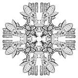 Oud Inca-ornament vector illustratie