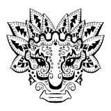 Oud Inca-ornament royalty-vrije stock afbeelding