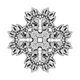 Oud Inca-ornament royalty-vrije illustratie