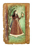 Oud Indisch beeld Royalty-vrije Stock Foto's