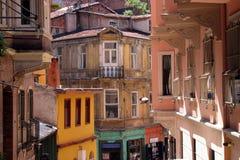 Oud Istanboel royalty-vrije stock afbeeldingen