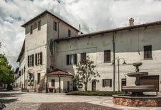 Oud Italiaans dorp Royalty-vrije Stock Afbeelding