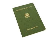 Oud Italiaans paspoort Royalty-vrije Stock Afbeeldingen
